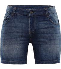 Dámske jeans šortky GERYGA 2 ALPINE PRO