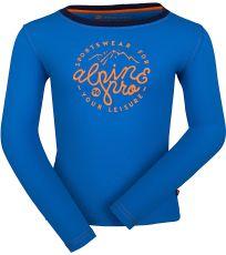 Detské tričko s dlhým rukávom DILILO 2 ALPINE PRO