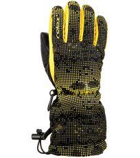 Junior lyžiarske rukavice PUZZY RELAX