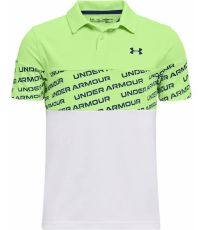 Chlapecké funkční polo triko Performance Wordmark Polo Under Armour