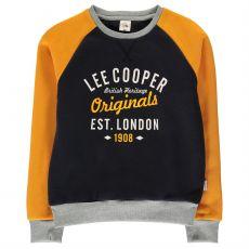 Dětská mikina Raglan Crew Lee Cooper