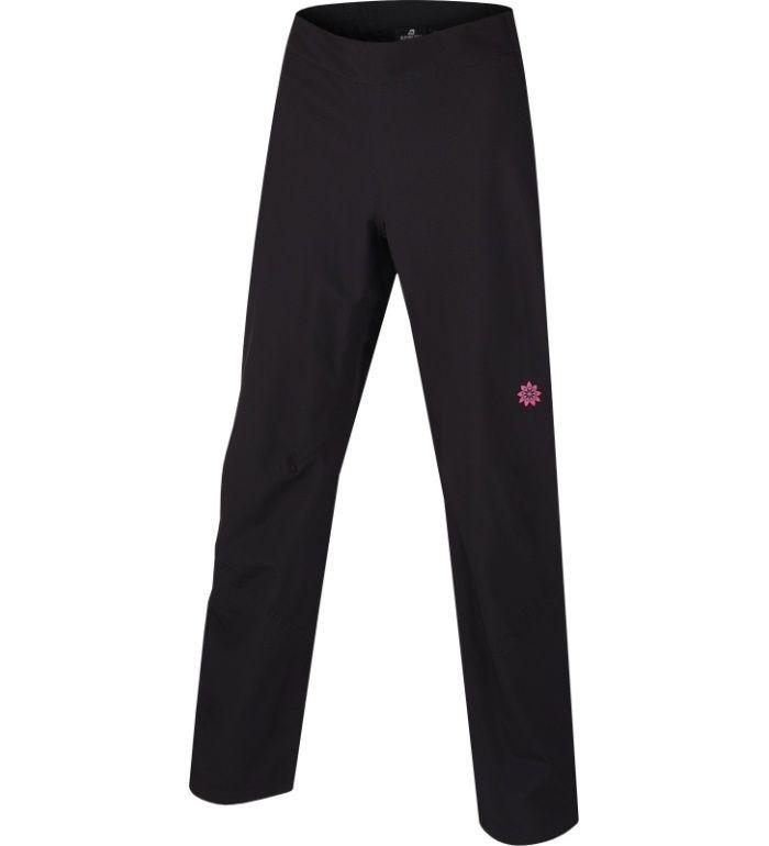 ALPINE PRO CABRAL Dámské zateplené softshell kalhoty WPAA015990 černá 42