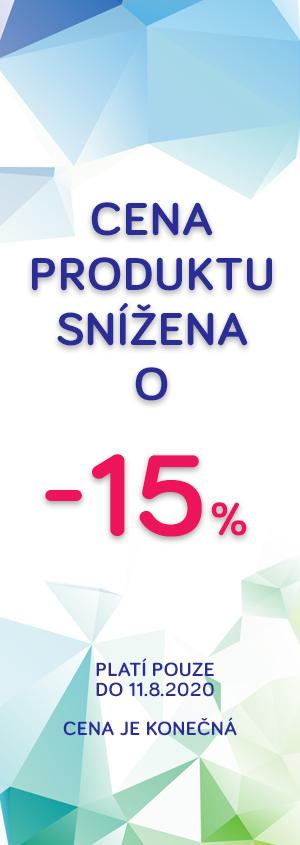 Cena snížena o 15%