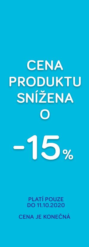 Cena snížená o 15%