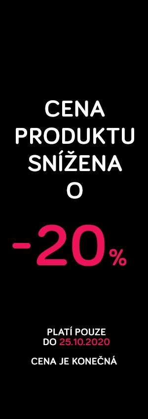 Cena produktu snížená o 20%