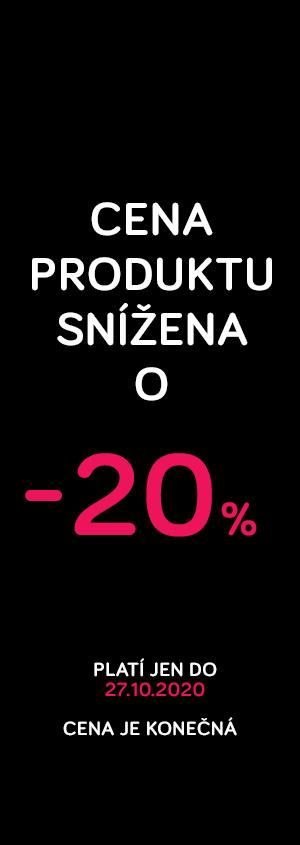 Cena snížena -20%