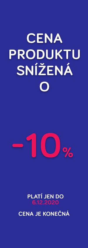 Cena snížená o 10%