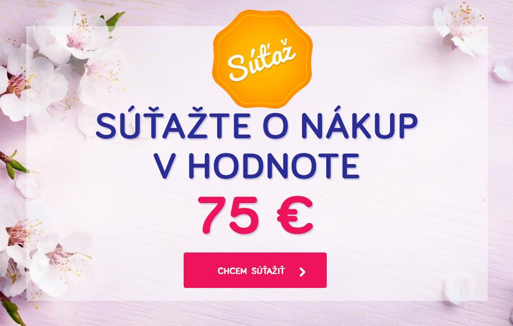 Súťaž o nákup za 75 €