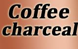 Coffee charceal